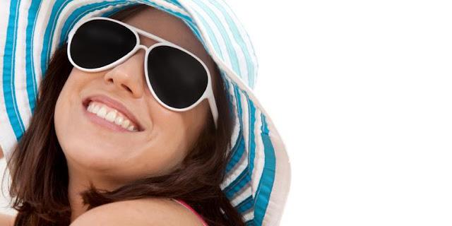 Kacamata hitam dapat menangkal  sinar UV
