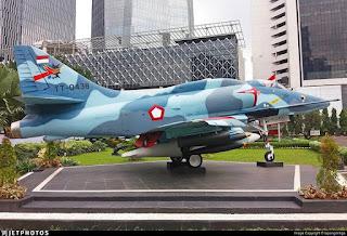 A-4 Skyhawk Jet Tempur TNI AU