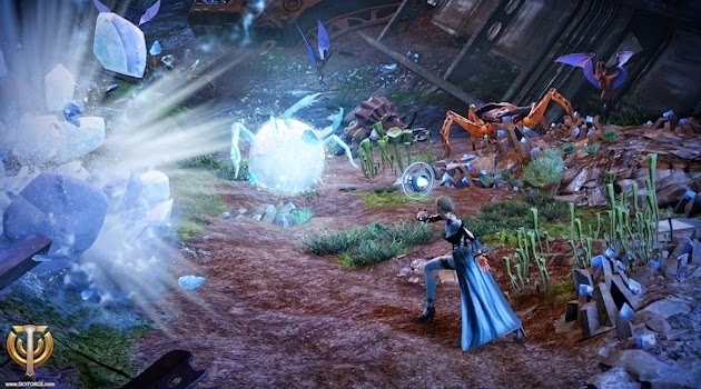 The Cryomancer Class Revealed For Skyforge With New Video - BioGamer
