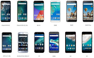 Contoh produkAndroid One