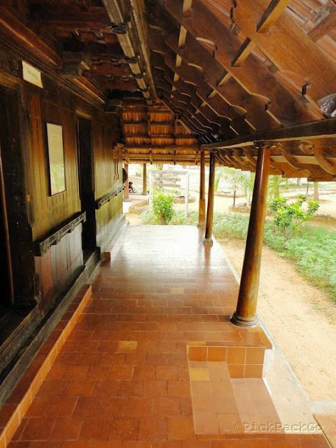 Dakshinachitra - traditional Hindu Nair house from South Kerala