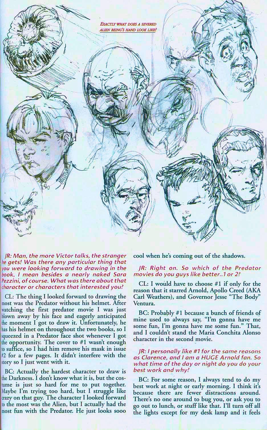 Read online Overkill: Witchblade/Aliens/Darkness/Predator comic -  Issue #2 - 42