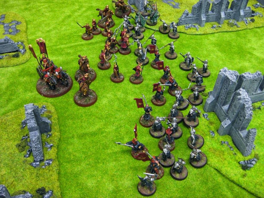 gondor battle line