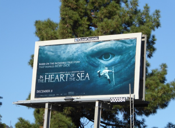 In the Heart of the Sea whale eye billboard