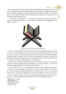 5. Sınıf Kuranı Kerim Ders Kitabı Cevapları Mevsim Yayınları Sayfa 13