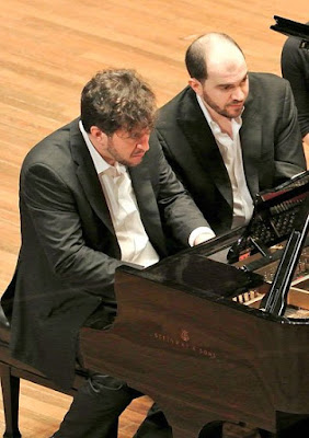 Thomas Adès and Kirill-Gerstein (Photo Stu-Rosner)