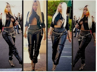 Nicki Minaj Flashes Her B**bs + N*pple - Entertainment - Nigeria