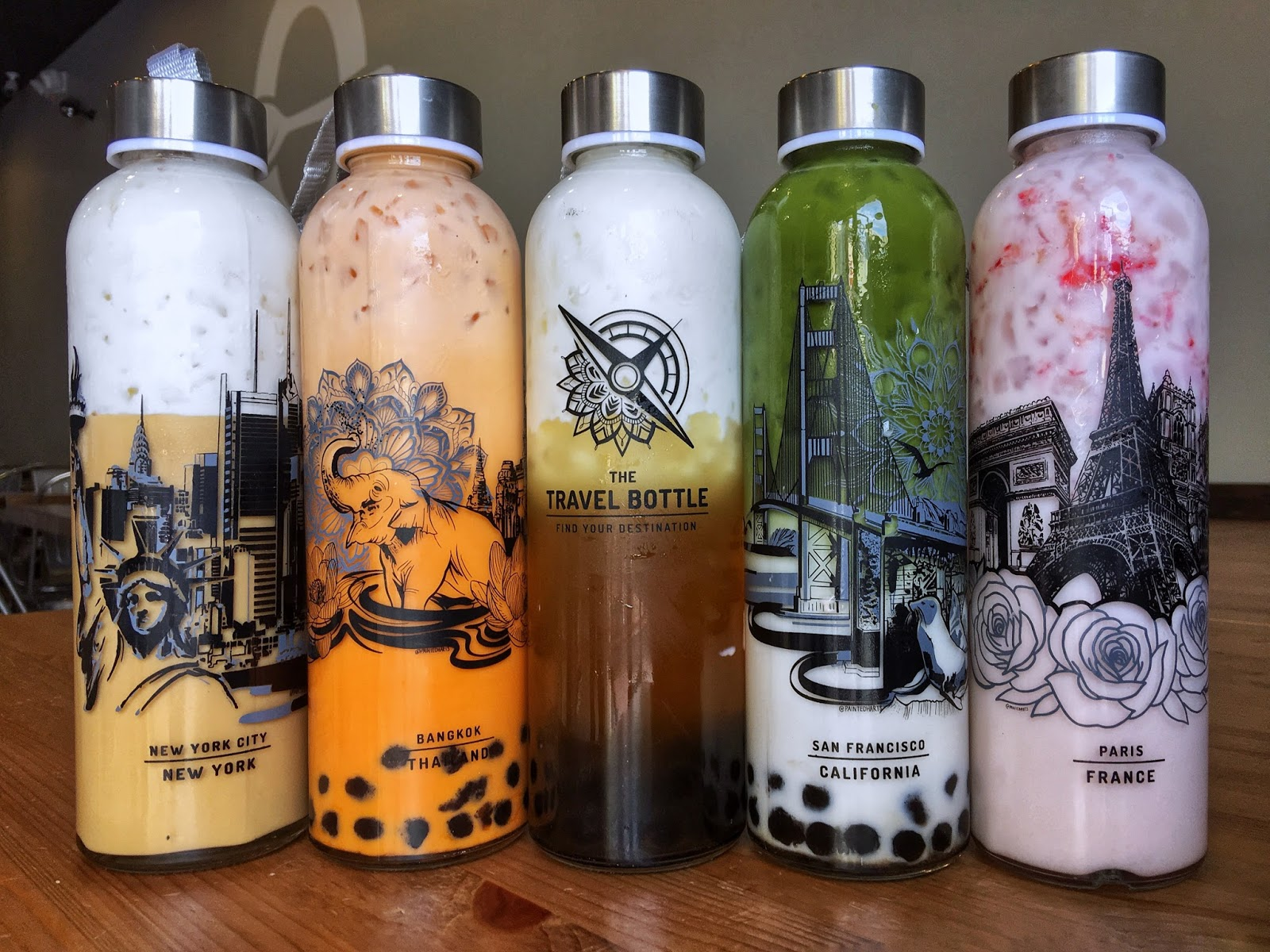 May 27 -29 | Get These New Travel Bottles From Zero Degrees and Get A Free Drink!