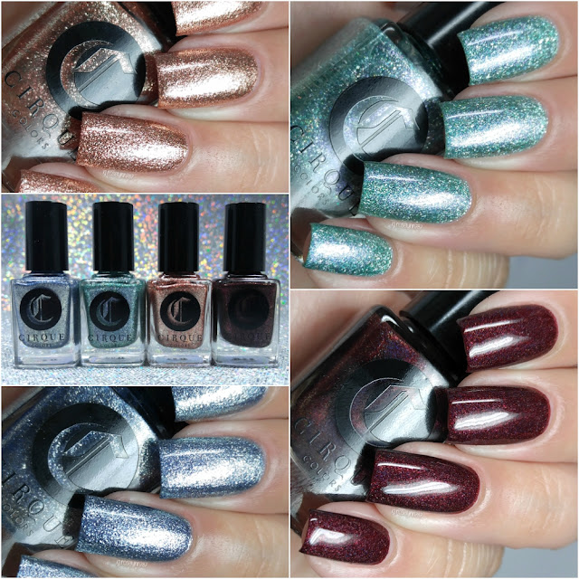 Cirque Colors - Holiday 2016 Swatches