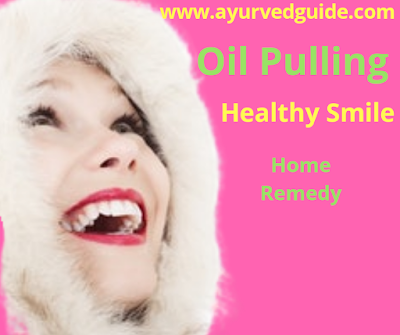 Oil Pulling Healthy Smile Weightloss