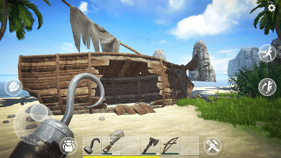 Last Pirate: Survival Island MOD DINHEIRO INFINITO 0.915