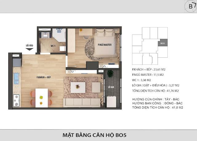 Chi tiết căn hộ B05