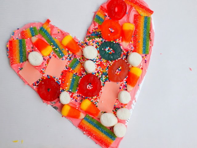 easy and fun candy kids art- great for leftover Halloween Candy or Christmas fun too!