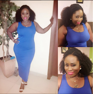 Curvy Ghanaian Actress, Lydia Forson Flaunts Her Backside As She Clocks 32 Today