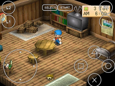 Game Harvest Moon Back to Nature di Android
