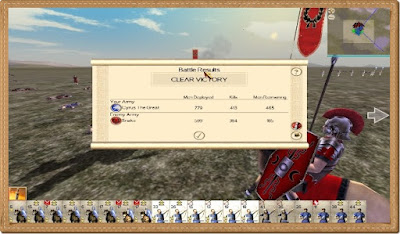 Rome Total War Gameplay PC