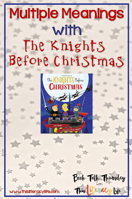The Knights Before Christmas is a funny Night Before Christmas parody that is perfect for teaching many skills to students of all ages!