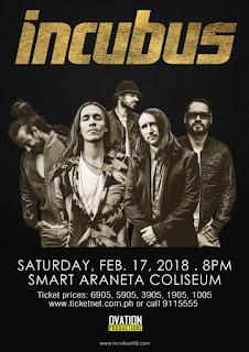Incubus Live Manila