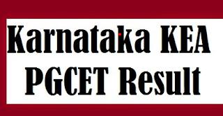 KEA PGCET Results