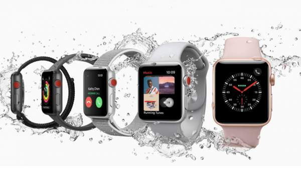 Apple Watch 3 - smartwatch water resistant