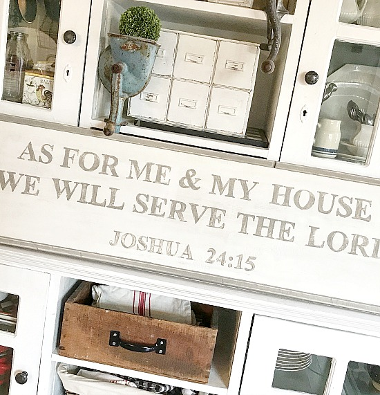 Rustic bible verse sign