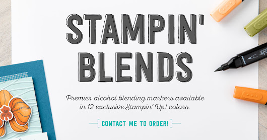 Stampin Up Special Release - Stampin Blends