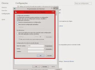 Configuração Proxy Vivo 3G