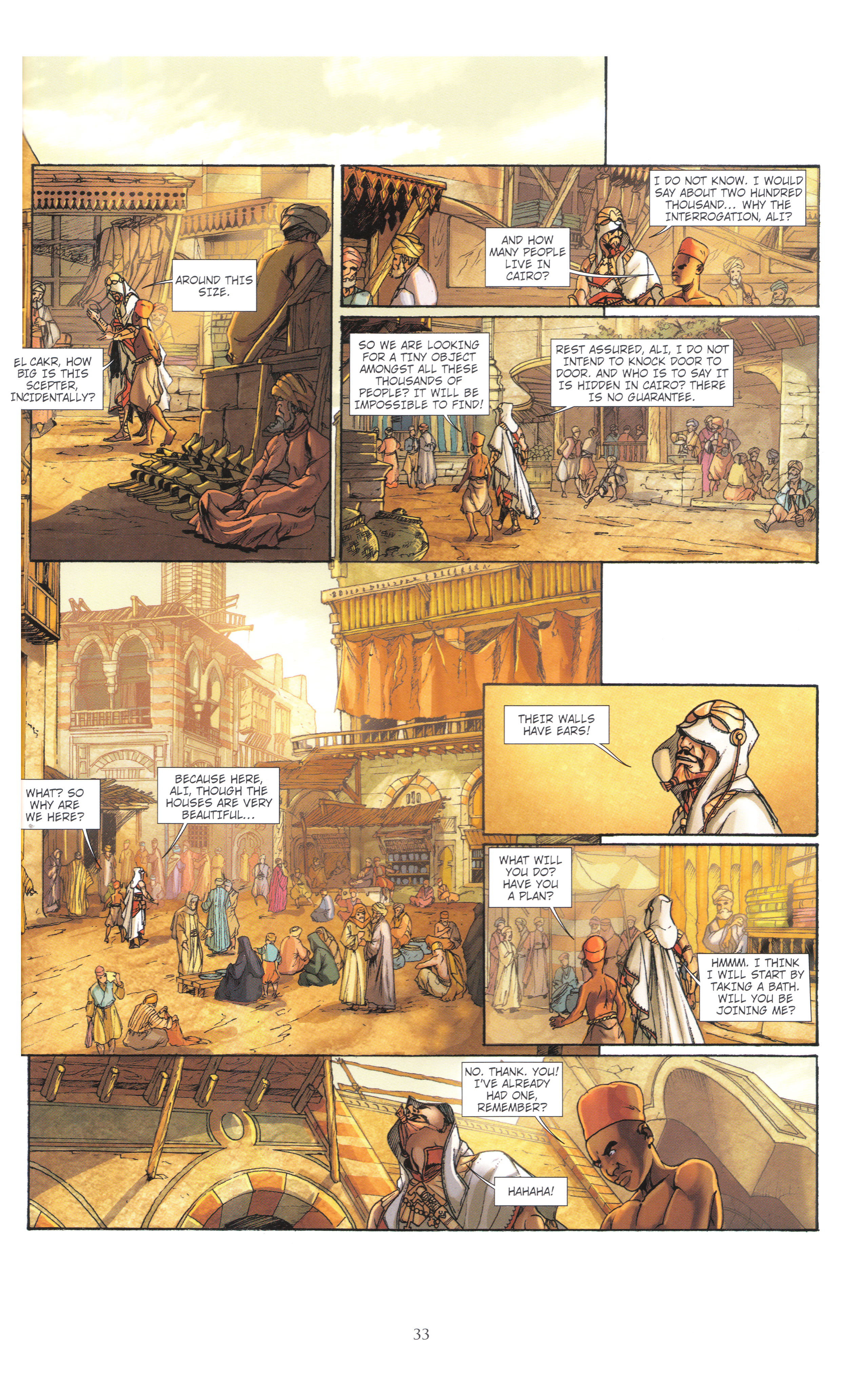 Read online Assassin's Creed (2012) comic -  Issue #4 - 33