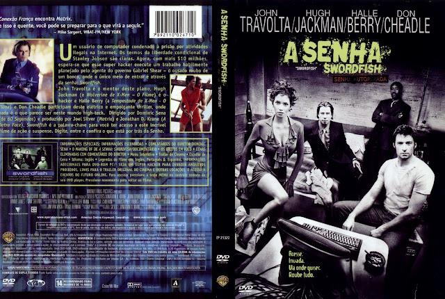 Capa DVD A Senha Swordfish
