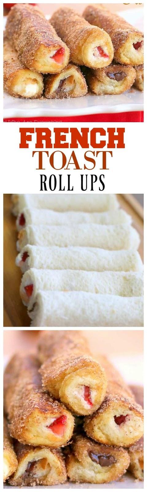 French Toast Roll-Ups Recipe - Cucina de Yung