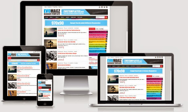 Evo Magz Blogger Template