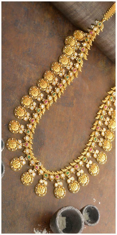 Ramparivar and Diamond Chokers by Nikitha