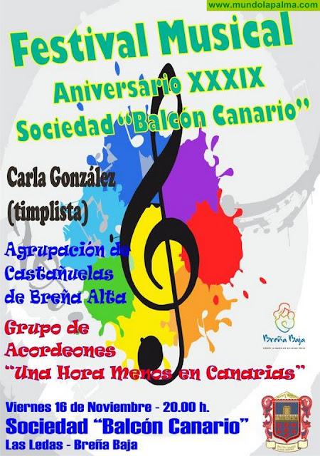"""""""Balcón Canario"""" celebra su Festival Musical"""
