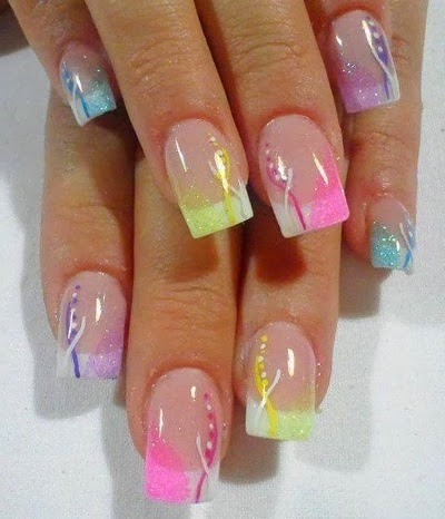 Nail Designs For Spring 2014 | Squarts