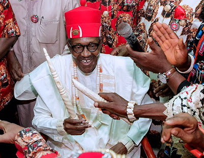 buhari chieftaincy titles igboland