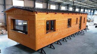 dřevěné mobilní domy celoroční