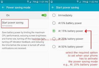 Power Saving Mode