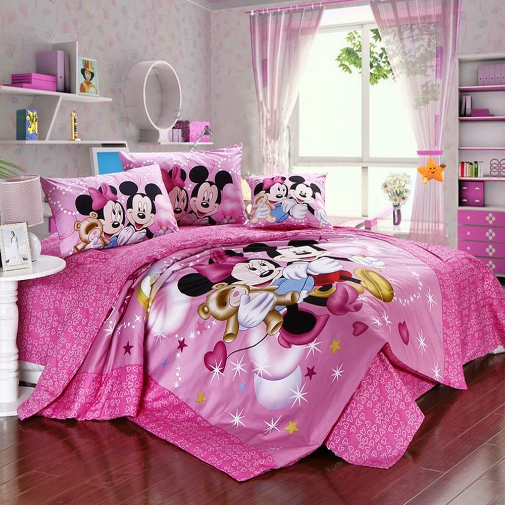 Bedroom Decor Ideas and Designs Top Ten Minnie Mouse