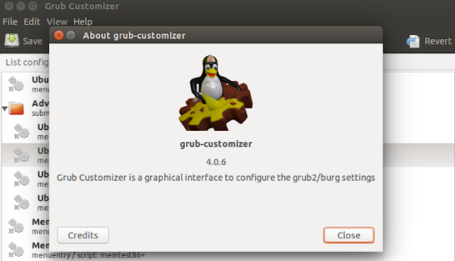 Como instalar o Grub Customizer 4.0.6 no Ubuntu 16.04/15.04/14.10/14.04/12.04/LinuxMint