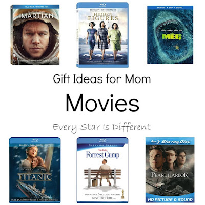 Gift Ideas for Mom-Movies