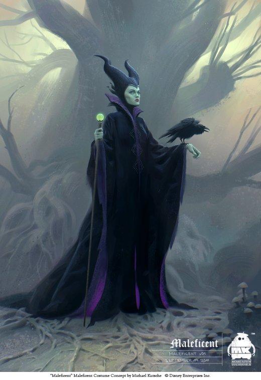 Michael Kutsche arte deviantart ilustrações fantasia ficção científica artes conceituais personagens character design cinema filme Malévola (Maleficent)