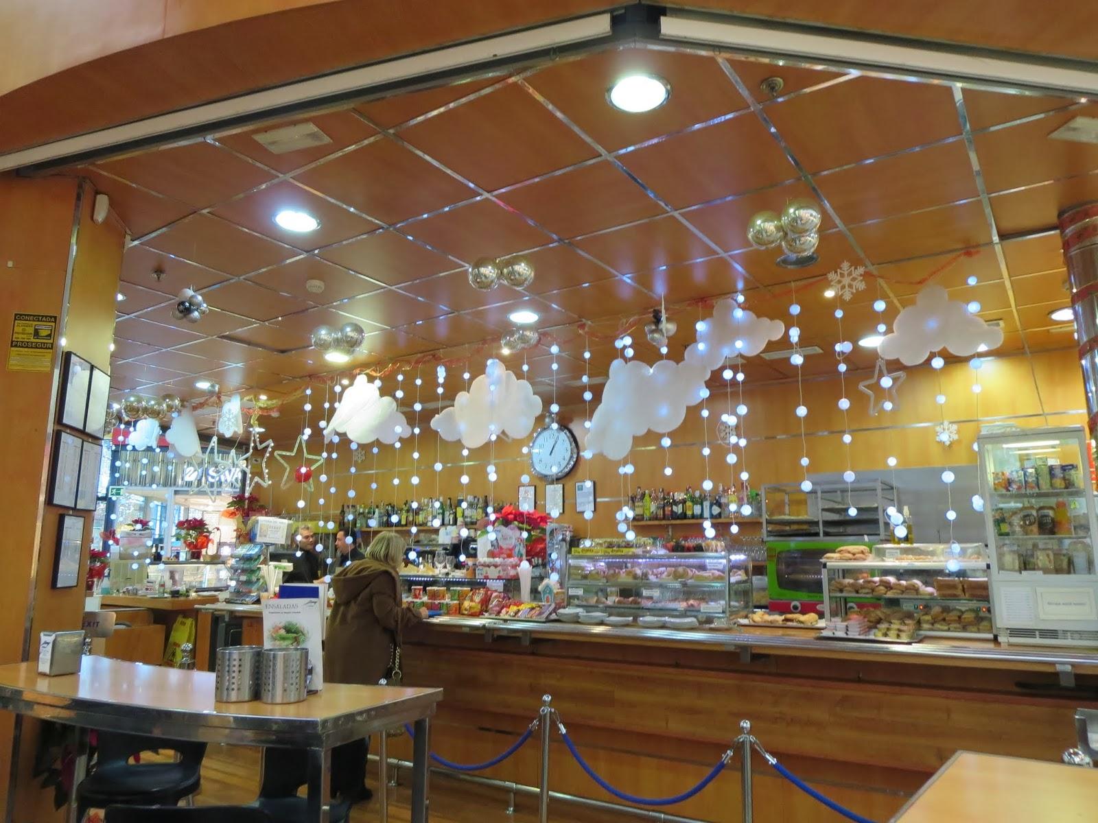 Cafeteria El Yate in Málaga, Spain