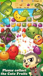 Monkey Fruits Crush Apk v2.2.1 Mod