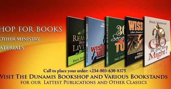 Author/nu >> divinepublicity.com: BOOKS BY PST. DR. PAUL ENENCHE