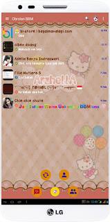 BBM MOD HELLO KITTY V.2.12.0.11 Apk