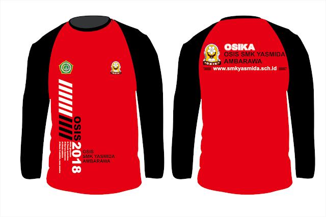 Design Kaos Osis SMK Yasmida Ambarawa
