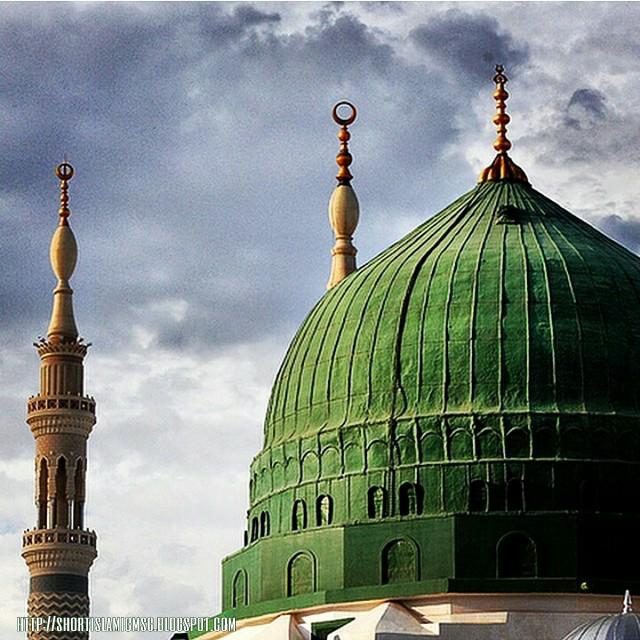 muhammad pbuh green tomb