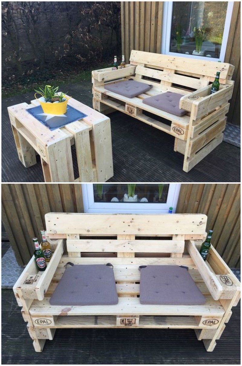 10 pallet wooden reuse diy projects pallets platform. Black Bedroom Furniture Sets. Home Design Ideas