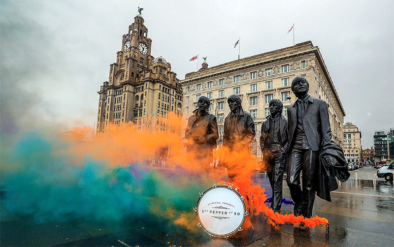 Liverpool va célébrer le 50e anniversaire de « Sgt. Pepper »