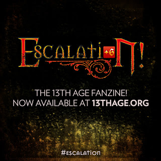 Escalation! the 13th Age fanzine is now available at 13thage.org